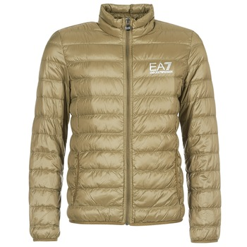 Textiel Heren Dons gevoerde jassen Emporio Armani EA7 TRAIN CORE ID M DOWN LIGHT Brown