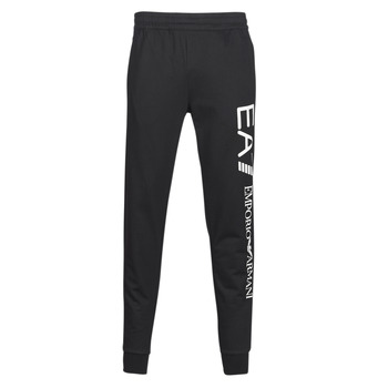 Textiel Heren Trainingsbroeken Emporio Armani EA7 TRAIN TRITONAL M PANTS CH BR Zwart / Wit