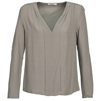 Textiel Dames Tops / Blousjes See U Soon CHARLOTTE Taupe