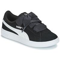 Schoenen Kinderen Lage sneakers Puma SMASH V2 RIB PS Zwart