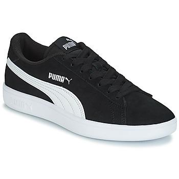 Schoenen Kinderen Lage sneakers Puma SD V2 JR BOY182 Zwart