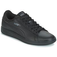 Schoenen Kinderen Lage sneakers Puma PUMA SMASH V2 L Zwart