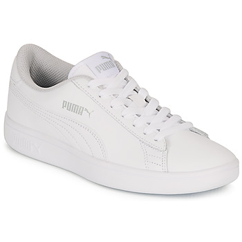 Schoenen Kinderen Lage sneakers Puma SMASH V2 L JR Wit