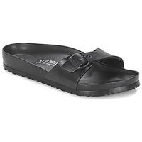 Schoenen Heren Leren slippers Birkenstock MADRID EVA Zwart