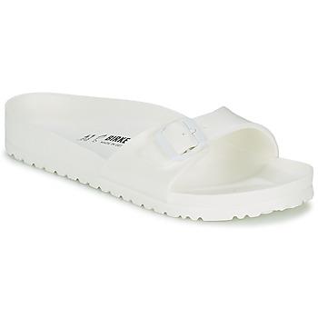 Schoenen Heren Leren slippers Birkenstock MADRID EVA Wit