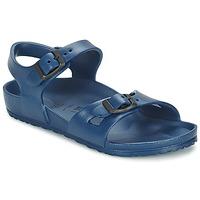 Schoenen Kinderen Sandalen / Open schoenen Birkenstock RIO EVA Marine