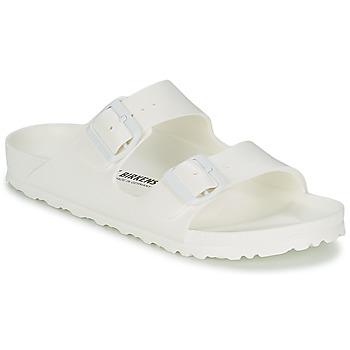 Schoenen Dames Leren slippers Birkenstock ARIZONA EVA Wit