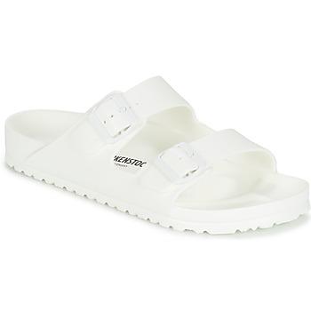 Schoenen Heren Leren slippers Birkenstock ARIZONA EVA Wit