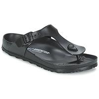 Schoenen Dames Slippers Birkenstock GIZEH EVA Zwart