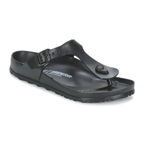 Schoenen Slippers Birkenstock GIZEH EVA Zwart