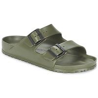 Schoenen Heren Leren slippers Birkenstock ARIZONA EVA Kaki