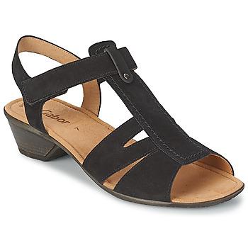 Schoenen Dames Sandalen / Open schoenen Gabor STEPHANIE Zwart