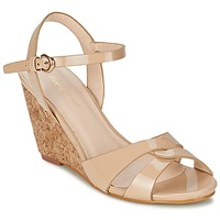 Schoenen Dames Sandalen / Open schoenen Moony Mood MAINTIRANA Beige / Verni