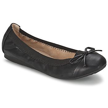 Schoenen Dames Ballerina's Moony Mood BOLALA Zwart