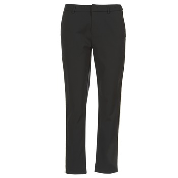 Textiel Dames Cargobroek Scotch & Soda ZERATRE Zwart / Wit