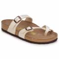 Schoenen Dames Leren slippers Birkenstock