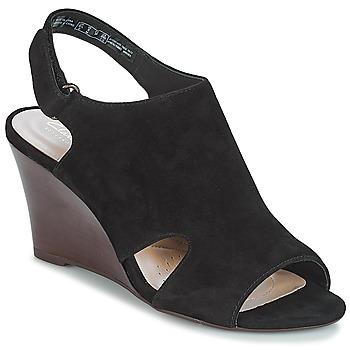 Schoenen Dames Sandalen / Open schoenen Clarks Raven Mist  zwart / Sde