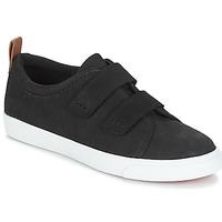 Schoenen Dames Lage sneakers Clarks Glove Daisy  zwart / Combi / Nbk