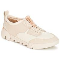 Schoenen Dames Lage sneakers Clarks Tri Spirit Wit / Combi