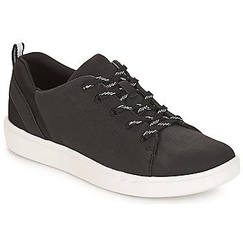 Schoenen Dames Lage sneakers Clarks Step Verve Lo /  zwart