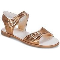 Schoenen Dames Sandalen / Open schoenen Clarks Bay Primrose Brons / Metallic