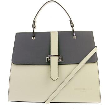 Tassen Dames Handtassen kort hengsel Christian Laurier FIONA blanc gris