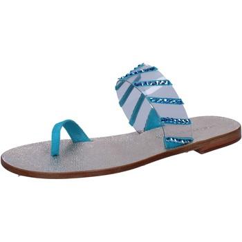 Schoenen Dames Sandalen / Open schoenen Eddy Daniele AW487 Bleu