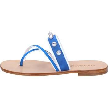 Schoenen Dames Sandalen / Open schoenen Eddy Daniele AW06 Bleu