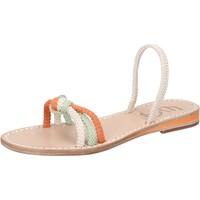 Schoenen Dames Sandalen / Open schoenen Eddy Daniele AW479 Blanc