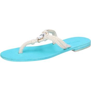 Schoenen Dames Sandalen / Open schoenen Eddy Daniele AW509 Blanc