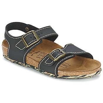 Schoenen Meisjes Sandalen / Open schoenen Birki's NEW YORK Neoprene /  zwart