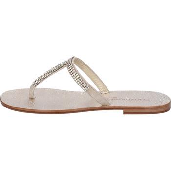 Schoenen Dames Sandalen / Open schoenen Eddy Daniele AW15 Beige