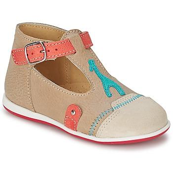 Schoenen Kinderen Sandalen / Open schoenen Citrouille et Compagnie GALENE Beige / Taupe