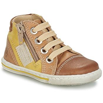 Schoenen Kinderen Hoge sneakers Citrouille et Compagnie MIXINE Brown
