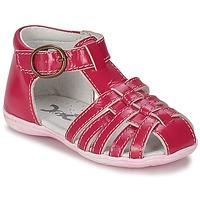 Schoenen Meisjes Sandalen / Open schoenen Citrouille et Compagnie TRAMELLE  FUCHSIA