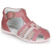 Schoenen Meisjes Sandalen / Open schoenen Citrouille et Compagnie VISOTU Roze / Multikleuren