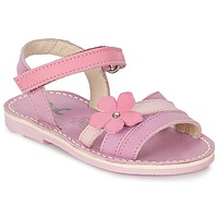 Schoenen Meisjes Sandalen / Open schoenen Citrouille et Compagnie VIZIEL Violet / Roze