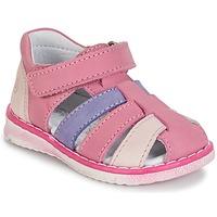 Schoenen Meisjes Sandalen / Open schoenen Citrouille et Compagnie FRINOUI  lilas / Roze /  fuchsia