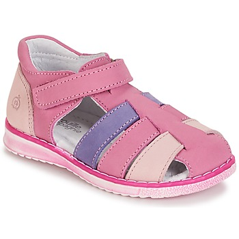Schoenen Meisjes Sandalen / Open schoenen Citrouille et Compagnie CHIZETTE  lilas / Roze /  FUCHSIA