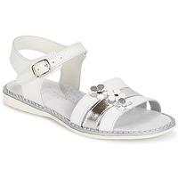 Schoenen Meisjes Sandalen / Open schoenen Citrouille et Compagnie KATAGUE Wit
