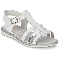 Schoenen Meisjes Sandalen / Open schoenen Citrouille et Compagnie ROLUI Wit