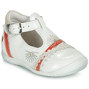 Schoenen Meisjes Ballerina's GBB MARINA Vvn / Nacre-corail / Dpf / Kezia