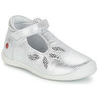 Schoenen Meisjes Lage sneakers GBB MARGOT Vte / Zilver / Dpf / Zafra