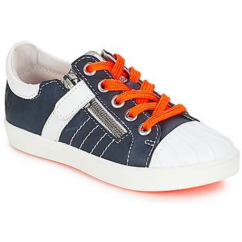 Schoenen Jongens Lage sneakers GBB MAXANCE Vte / Marine-wit / Dpf / 2706