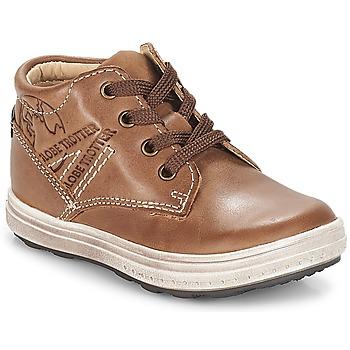 Schoenen Jongens Hoge sneakers GBB NINO Vte / Brown / Dpf / Gomez