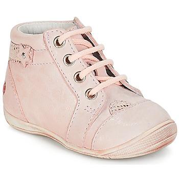 Schoenen Meisjes Laarzen GBB PRIMROSE Vte / Roze / Huidskleur / Dpf / Kezia