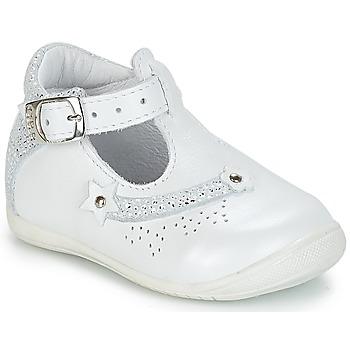 Schoenen Meisjes Sandalen / Open schoenen GBB PASCALE Vte / Wit / Dpf / Kezia