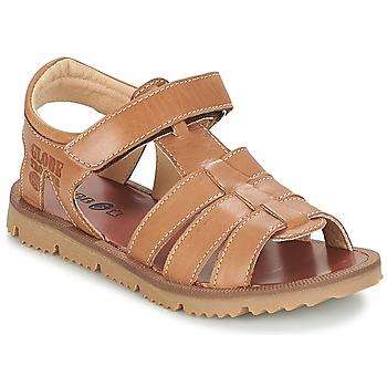Schoenen Jongens Sandalen / Open schoenen GBB PATHE Vte / Brown / Dpf / Lisbonna