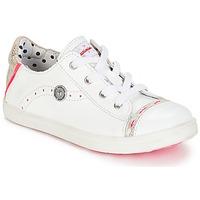 Schoenen Meisjes Lage sneakers Catimini PANDA Vte / Wit / Dpf / Venus