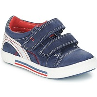 Schoenen Jongens Lage sneakers Catimini PERRUCHE Nus / Marine-rood / Dpf / Strike